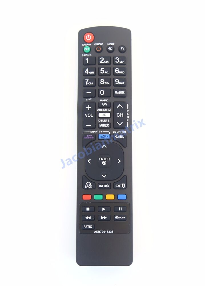 lg 3d smart tv remote akb72915238 sub akb72914271 42le4900 32le4900 37le4900 ebay. Black Bedroom Furniture Sets. Home Design Ideas