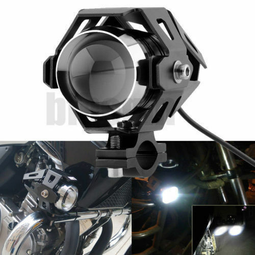 12v cree u5 led 125w frontscheinwerfer motorrad haupt. Black Bedroom Furniture Sets. Home Design Ideas