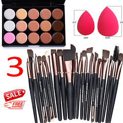 Kyпить 15 Colors Makeup Contour Face Cream Concealer Palette Professional + 20 BRUSH SP на еВаy.соm