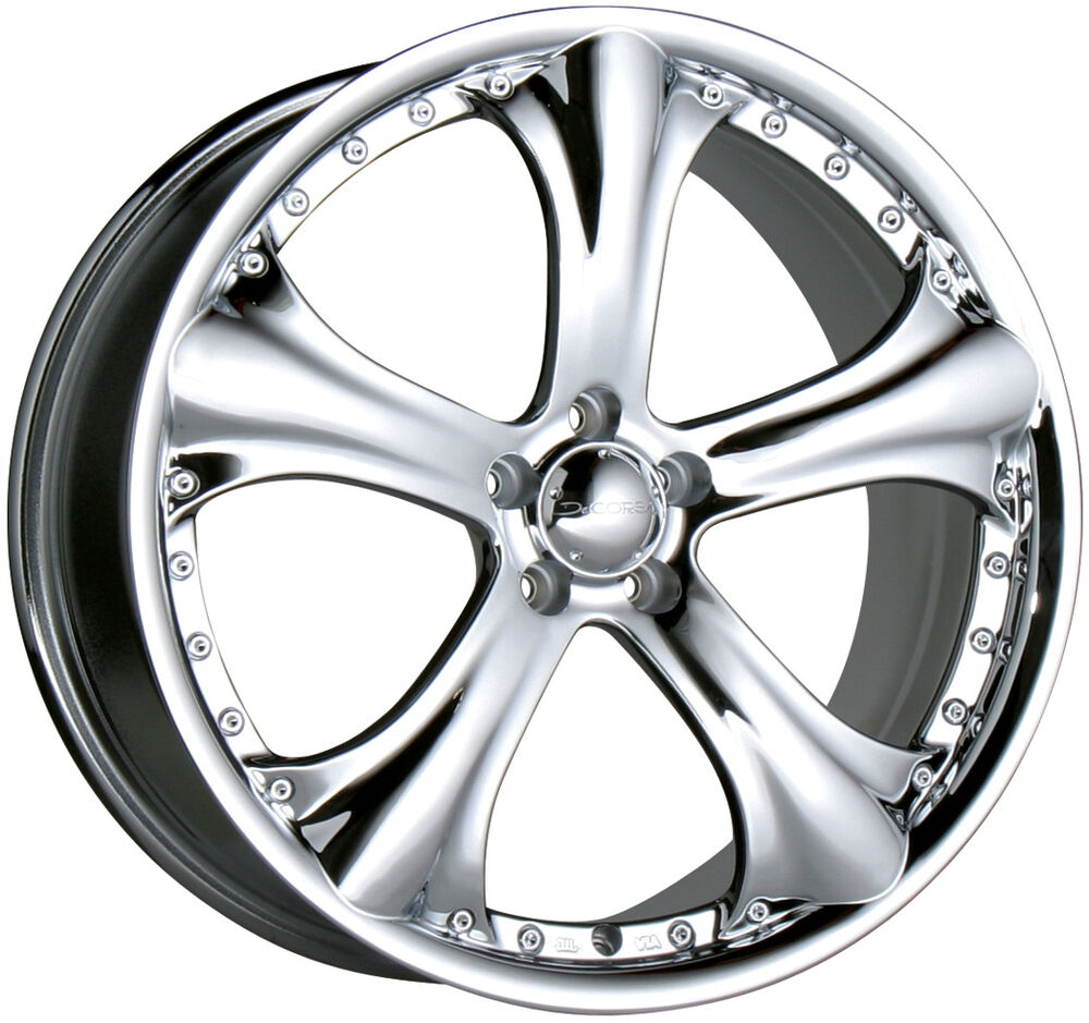 Mercedes benz c class w202 w203 chrome rims 19 19 x8 0 for Chrome rims for mercedes benz
