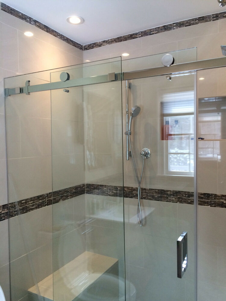 Serenity Style Sliding Shower Door System 56 Quot To 61 Quot X 76