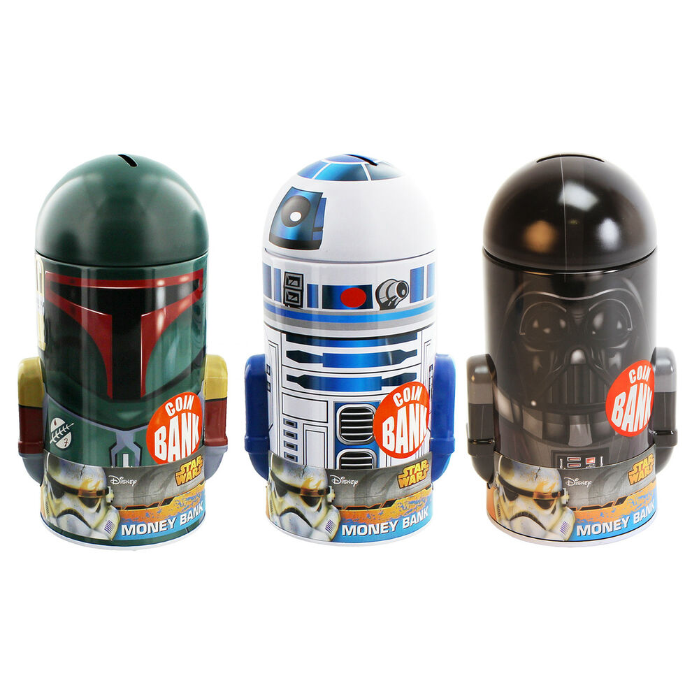 Star Wars Money Boxes Birthday Gift Ideas For Him & Her