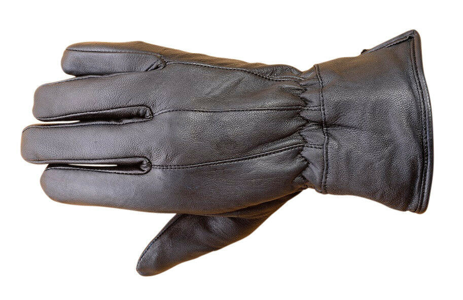 New Men's Winter Dress Gloves Soft Thermal Lined Dressing Real Leather Black. $ Buy It Now. Free Shipping. Winter Dress Gloves. Warm Thermal Lining. Real Leather.