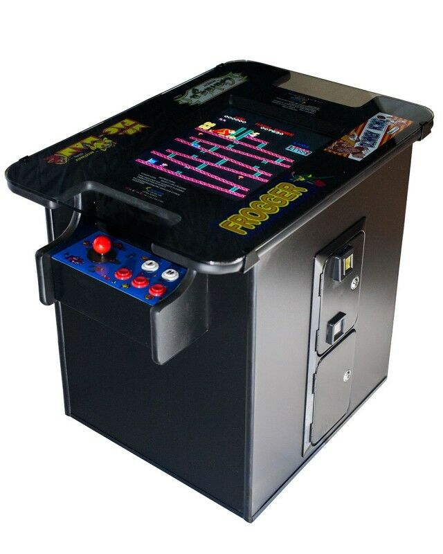 New Commercial Grade Video Arcade Cocktail Table Multigame