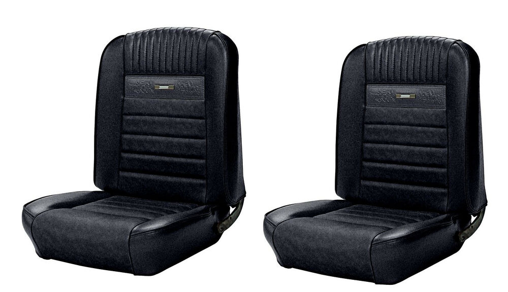 S L on 1965 Ford Mustang Bench Bucket Seat