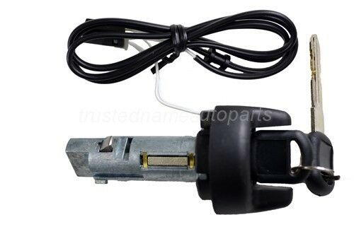 Ignition Lock Cylinder Tumbler With Key For Buick Century
