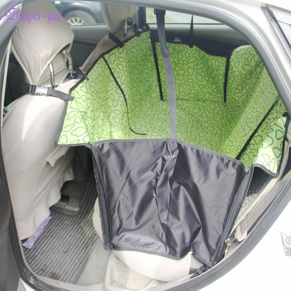 waterproof pet dog cat hammock blanket cover mat rear back seat car protector ebay. Black Bedroom Furniture Sets. Home Design Ideas