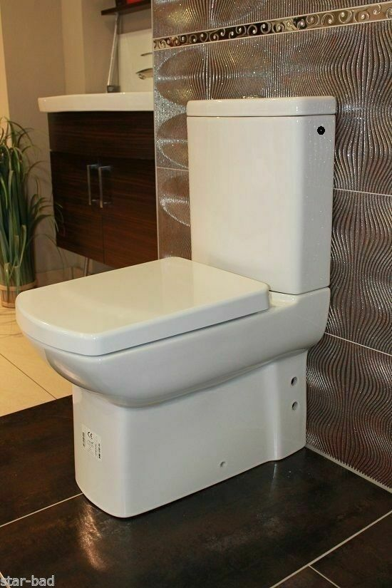 stand wc mit keramiksp lasten kombistand wc bodenstehend mit sp lkasten weiss ebay. Black Bedroom Furniture Sets. Home Design Ideas