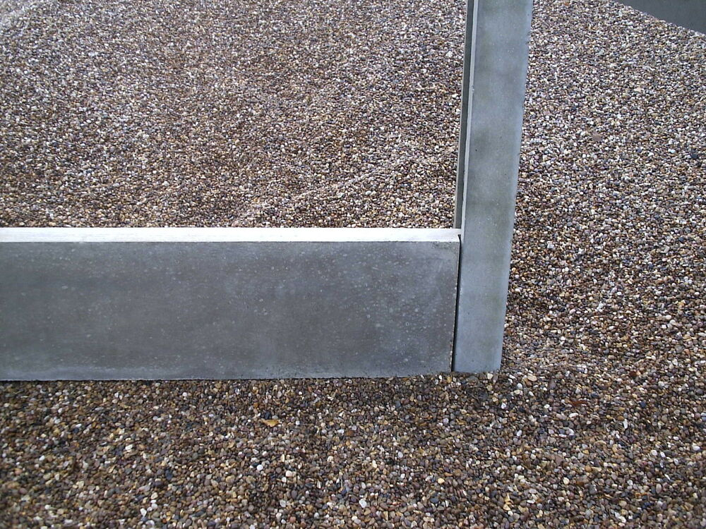 concrete gravel boards heavy duty square edge ebay. Black Bedroom Furniture Sets. Home Design Ideas