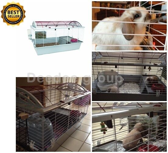 Large rabbit cages pet guinea pig habitat chinchilla small for Buy guinea pig cage
