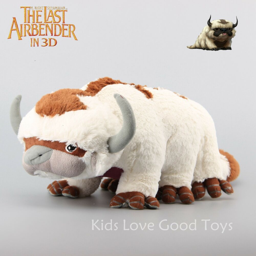 The Last Airbender Movie Appa: Avatar The Last Airbender Resource Appa Plush Toy Stuffed