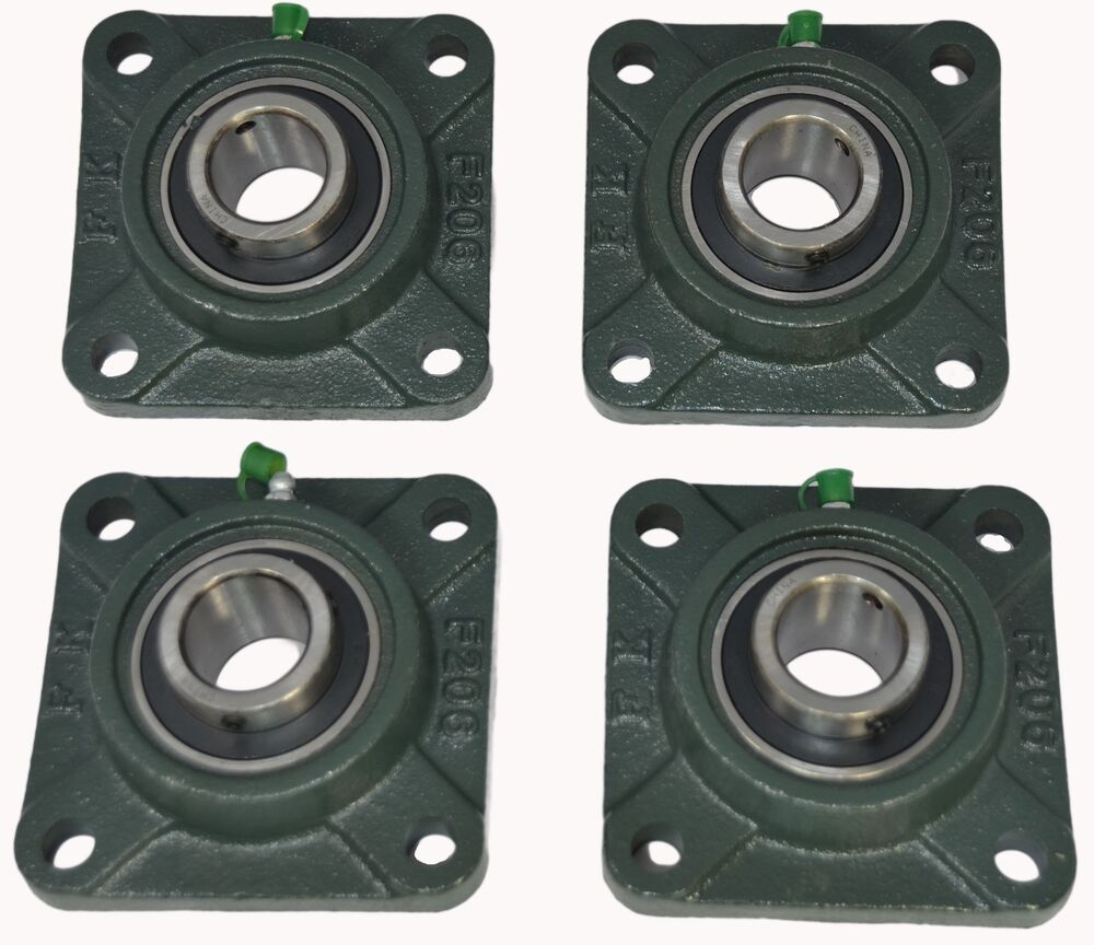 3 4 Square Bore Bearings : Ucf  quot square bolt flange block mounted bearing