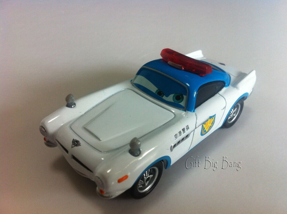 mattel disney pixar cars security guard finn mcmissile. Black Bedroom Furniture Sets. Home Design Ideas