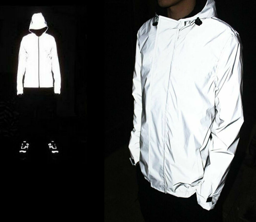 Men Waterproof 3m Super Light Reflective Jacket Cycling