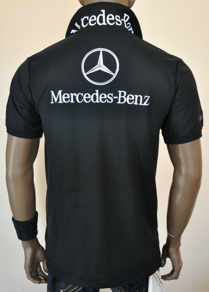 Nwt Men S Smart Casual Merc Polo T Shirt Ebay