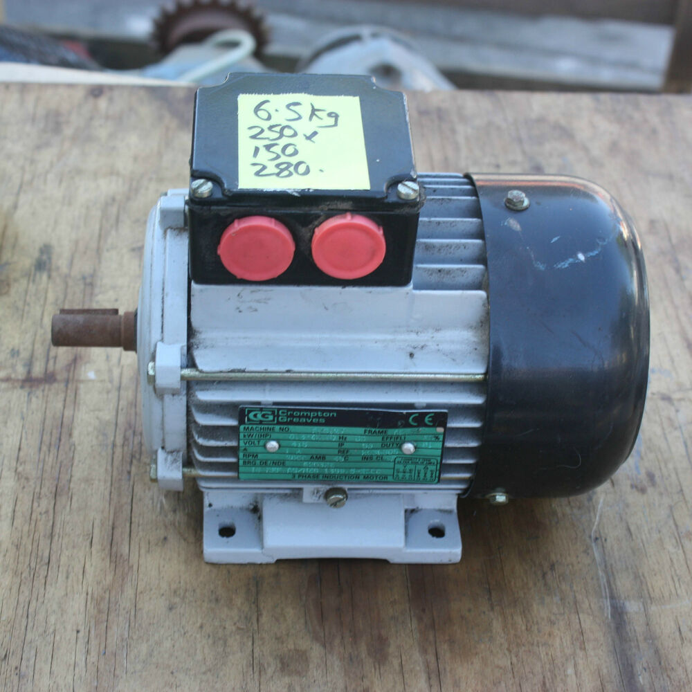 Crompton greaves adc12j 415v 3 phase induction for Three phase induction motor
