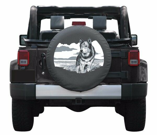 32 Quot Wildlife Tire Cover Wolf Jeep Wrangler Jk Usa Ebay