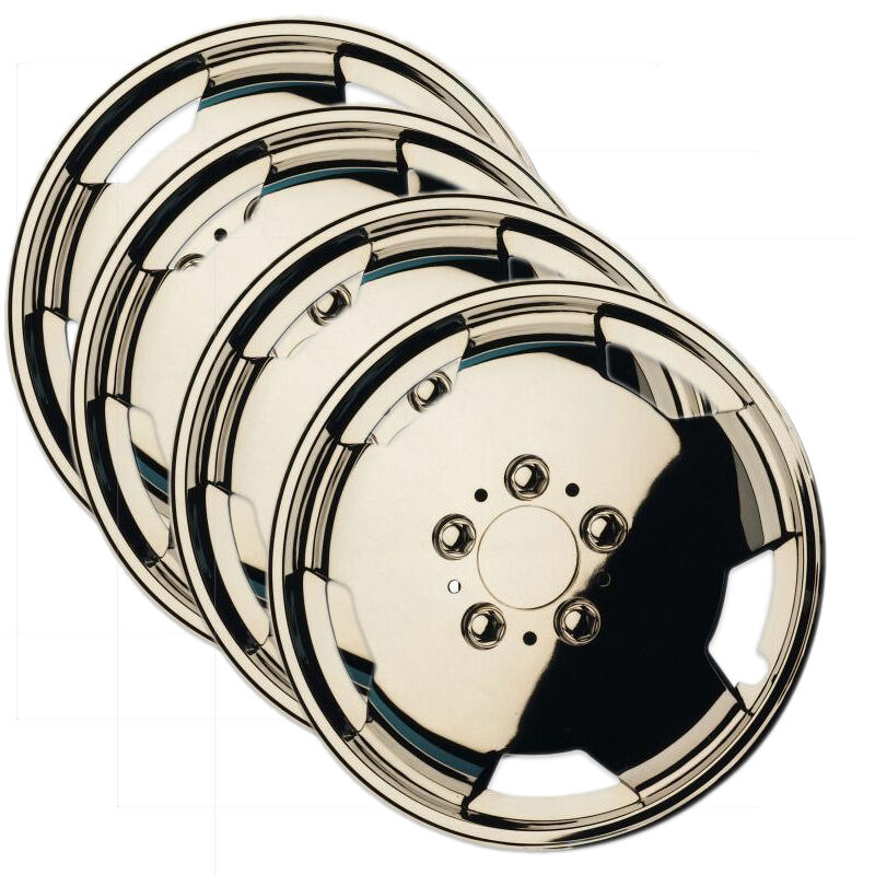 16 mercedes sprinter chrome effect wheel trims hubcaps for Mercedes benz sprinter wheel covers