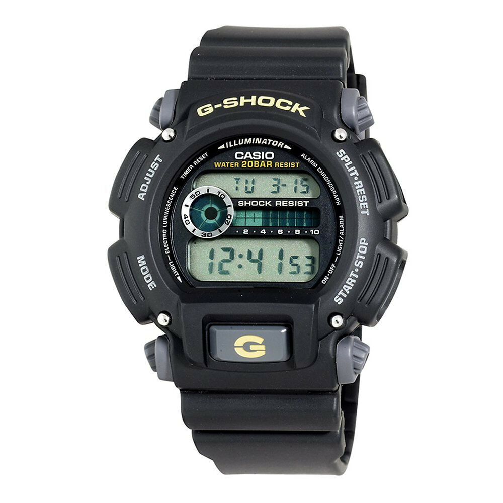 Casio men 39 s dw9052 1bcg g shock multi function digital watch 79767934408 ebay for Watches g shock