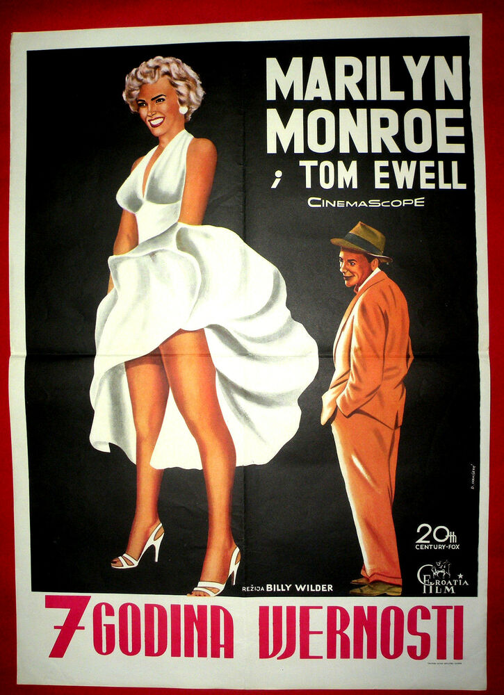 The Seven Most Popular Types Of Businesses: THE SEVEN 7 YEAR ITCH 1955 MARILYN MONROE BILLY WILDER