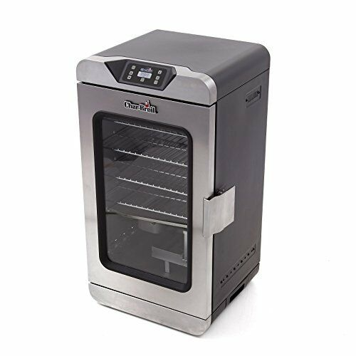 Char Broil Deluxe Digital Electric Smoker Stainless Steel