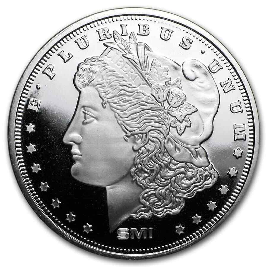 1 Oz Silver Round Morgan Dollar V2 Sku 90488 Ebay