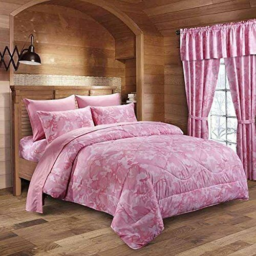 the pink military camo reversible comforter twin camouflage bedding ebay. Black Bedroom Furniture Sets. Home Design Ideas