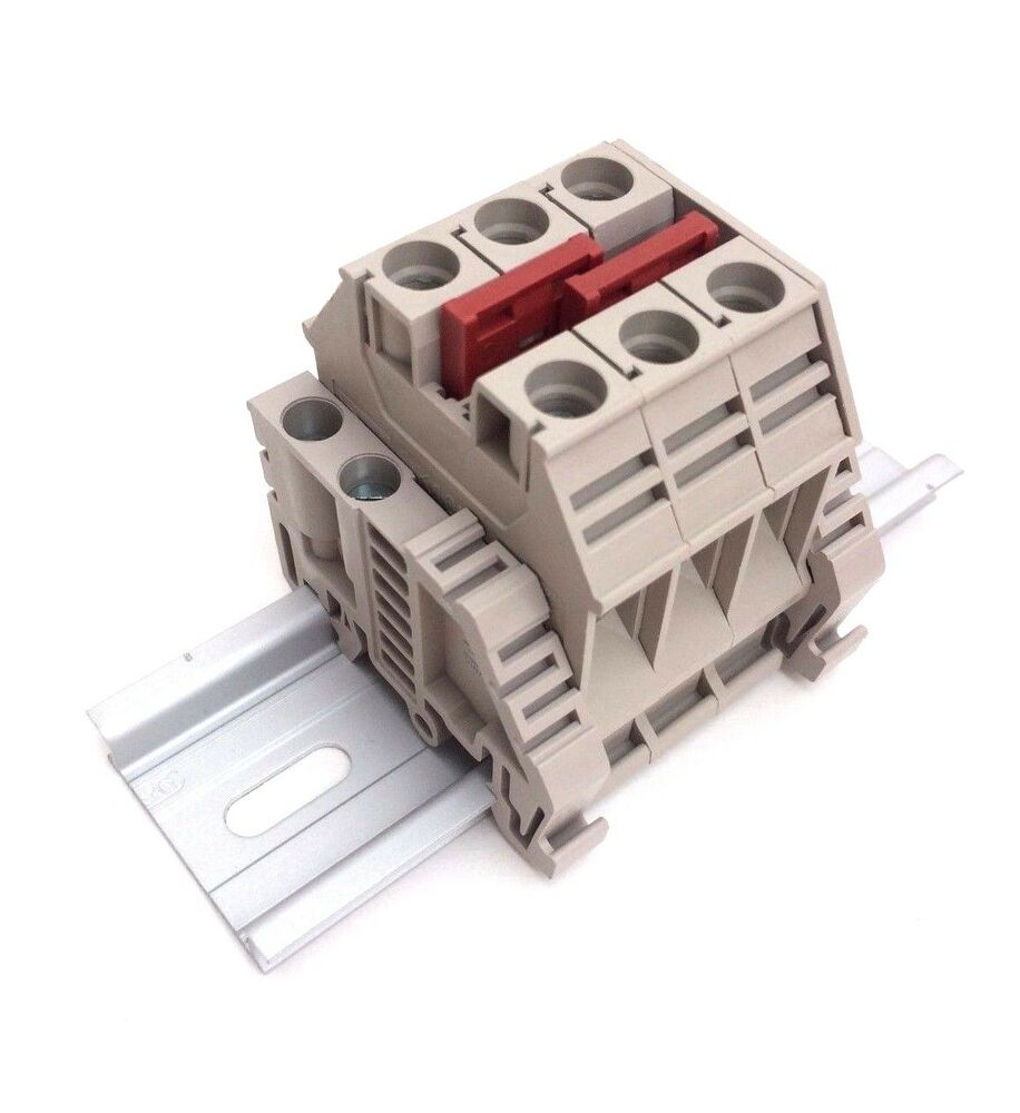 Solar Combiner Box Connector Din Rail Terminal Blocks