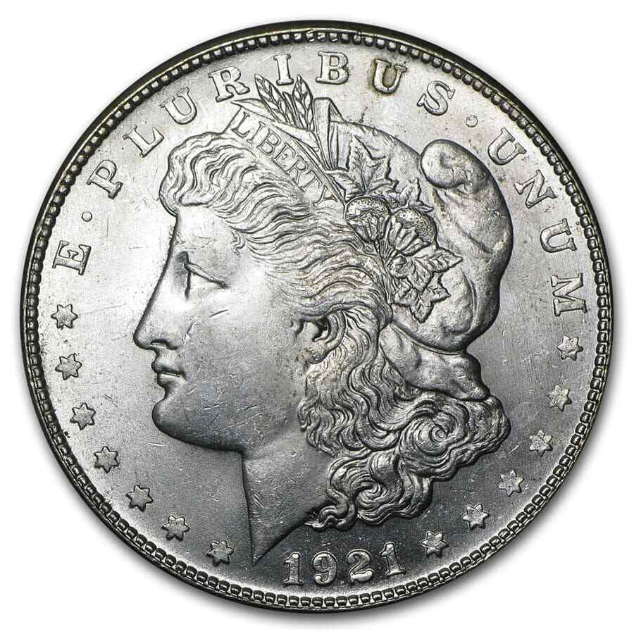 1921 S Morgan Dollar Coin Brilliant Uncirculated Ebay