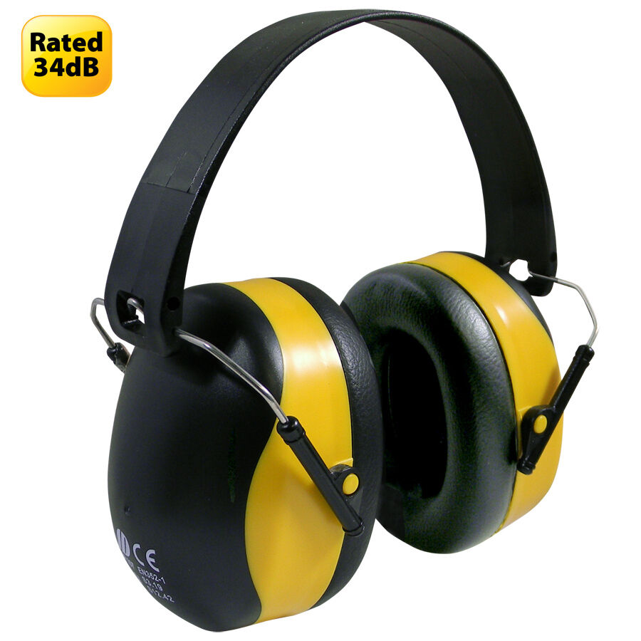 Ear Muffs 34db. Hearing protector for ears. Noise ...