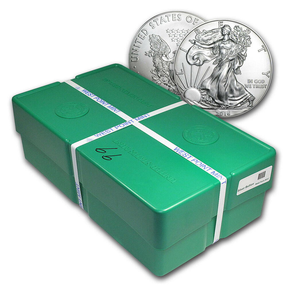 2016 500 Coin Silver Eagle Monster Box Sealed Sku