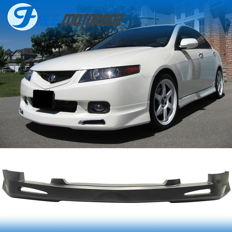 Acura Tsx 2004 2005 Engine Mount: For 04-05 2004 2005 Acura TSX JDM Front Bumper Lip Spoiler