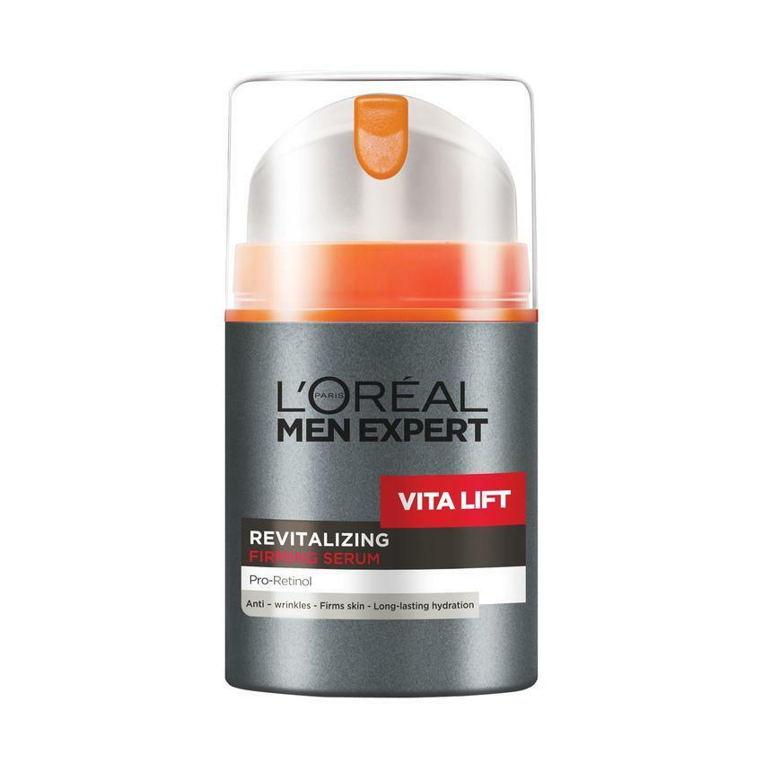 loreal l 39 oreal men expert vita lift revitalising firming serum 50ml ebay. Black Bedroom Furniture Sets. Home Design Ideas