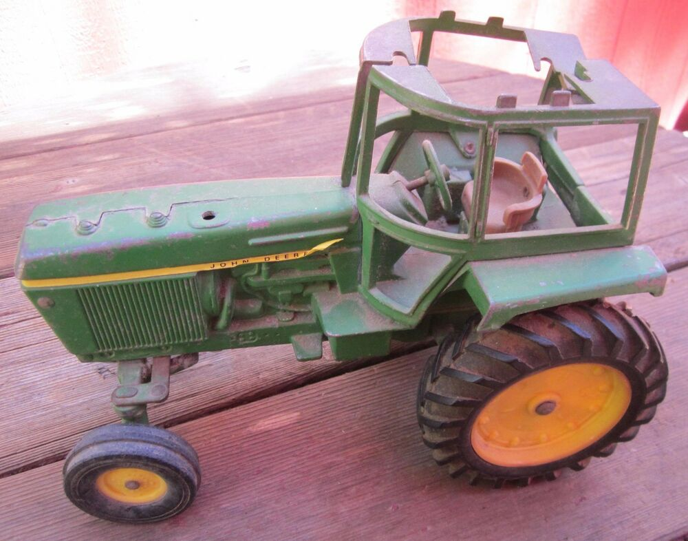 "Toy Tractors For Sale >> Vintage ""JOHN DEERE"" Toy Tractor 10"" X 7"" Traditional John Deere Colors As is!! 