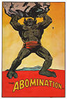 ABOMINATION PIN-UP POSTER Vintage art Marvel UK British HULK
