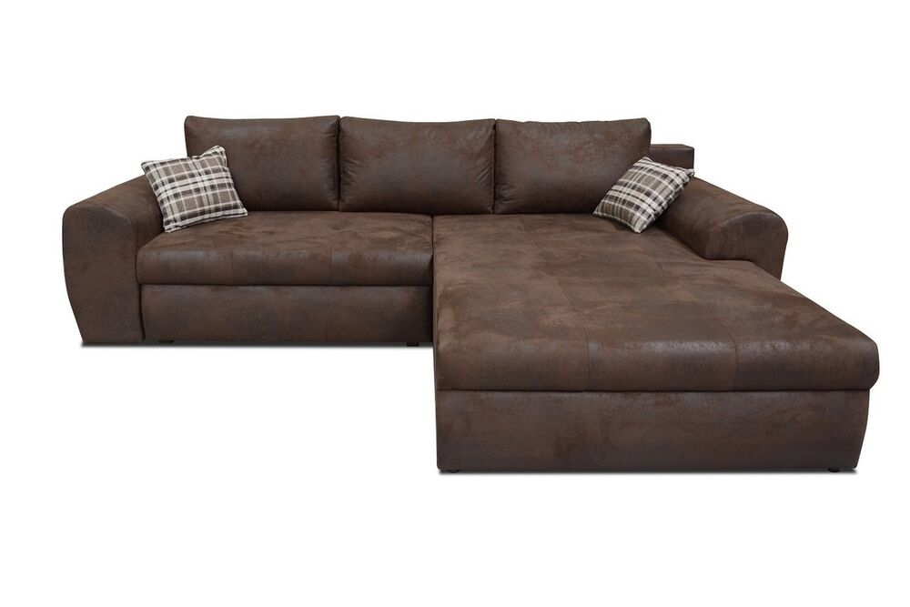 Ecksofa oxford eckcouch sofa couch mit bettfunktion big for Sofa xxl mit schlaffunktion