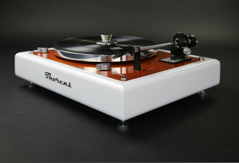 thorens td 145 turntable designer piece revised ebay. Black Bedroom Furniture Sets. Home Design Ideas