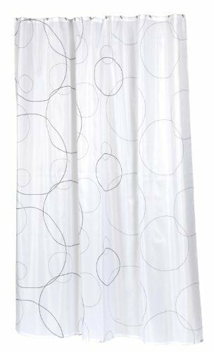 Ava Extra Long 100 Polyester Fabric Shower Curtain Size 70 Wide X 84 Long Ebay