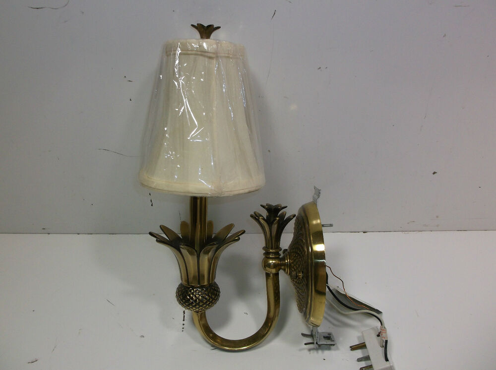Indoor Candle Wall Sconces : Hinkley Lighting 4880 Pearl Bronze 1 Light Indoor Wall Sconce Plantation Candle eBay