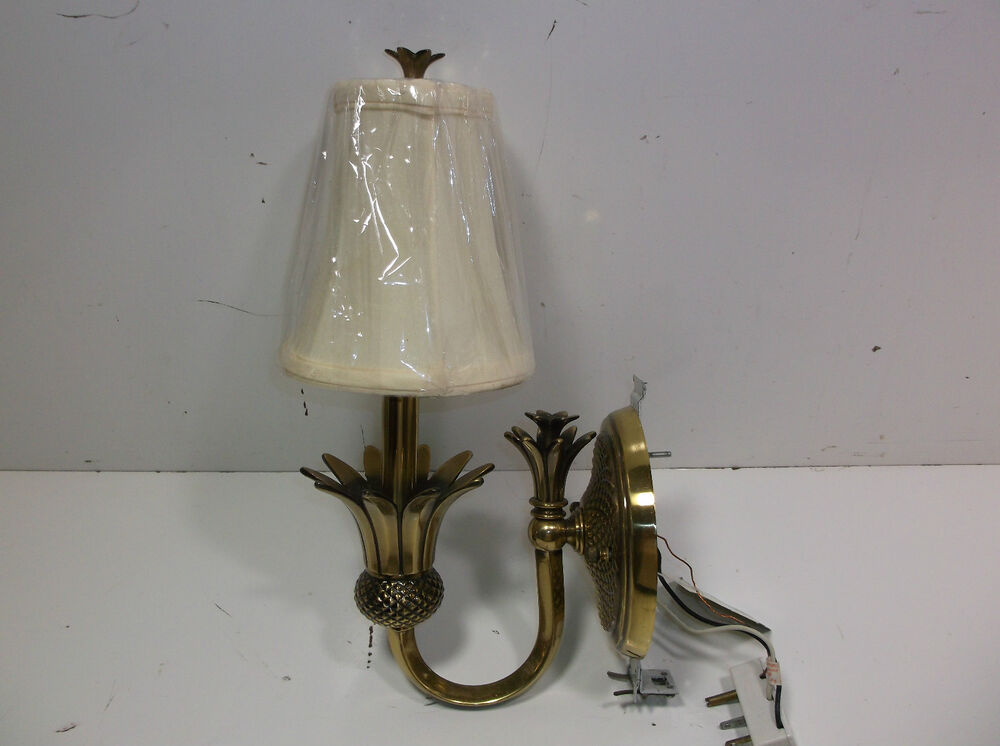 Hinkley Lighting 4880 Pearl Bronze 1 Light Indoor Wall Sconce Plantation Candle eBay