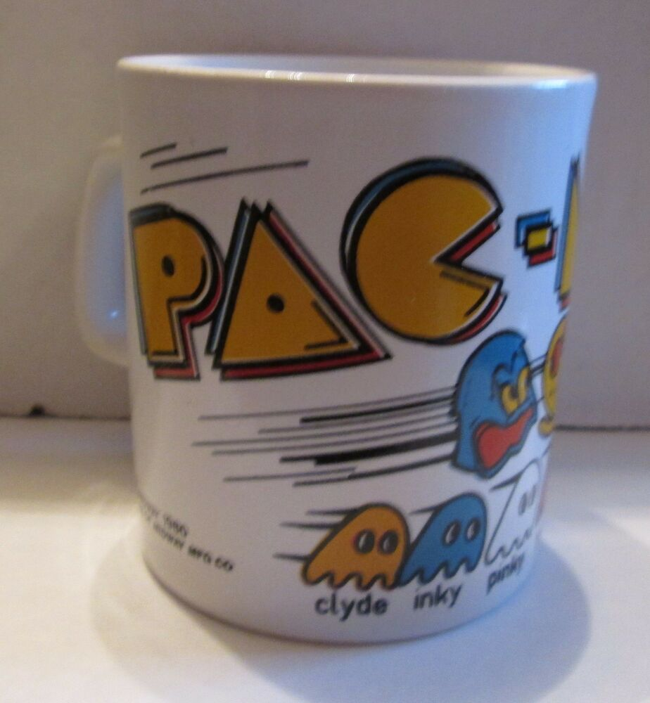 Pac Man Video Game Coffee Mug Cup Tea Latte Hot Chocolate