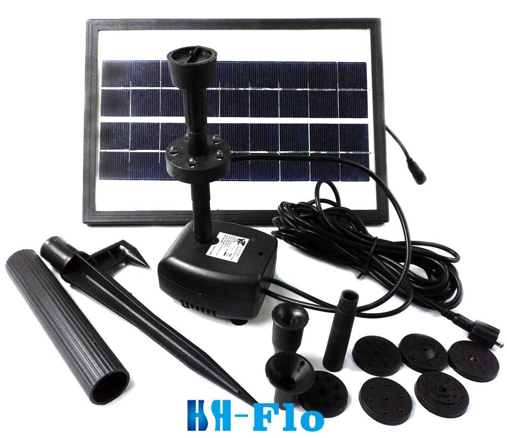 3 6w 250l h pond fountain solar fountain water pump with Water pumps for ponds and fountains