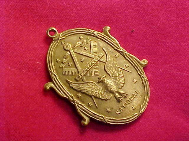 Original Vintage Mason Masonic National Medal Ebay