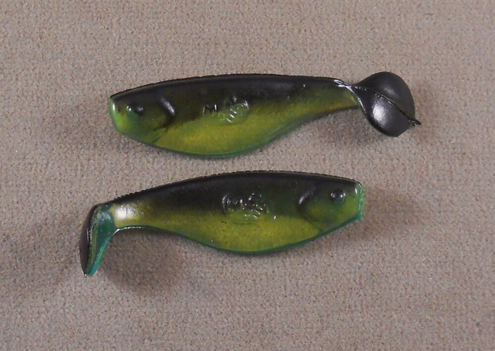 Walleye fishing lure 3 in original mister twister 1 pk for Shad fishing lures