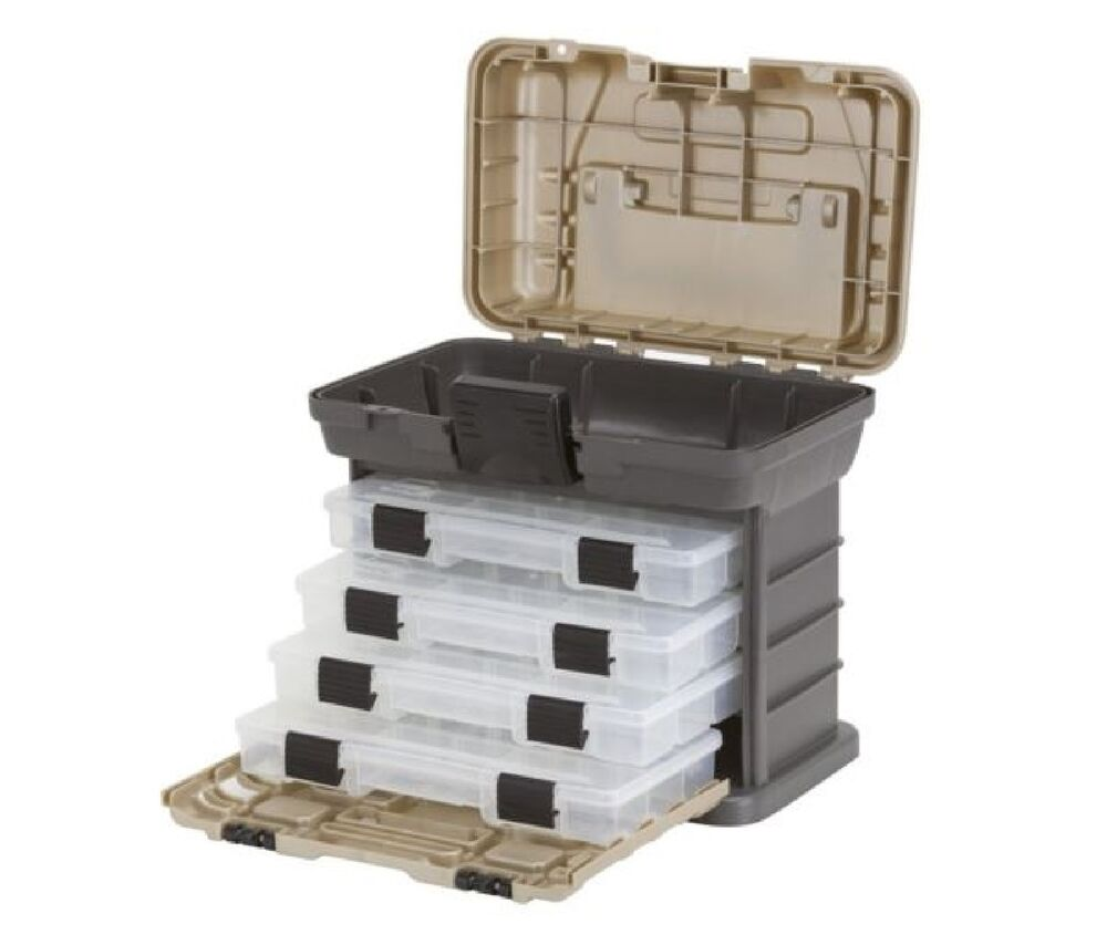 Fishing Tackle Box Plano Lures Storage Bulk Drawer Tray