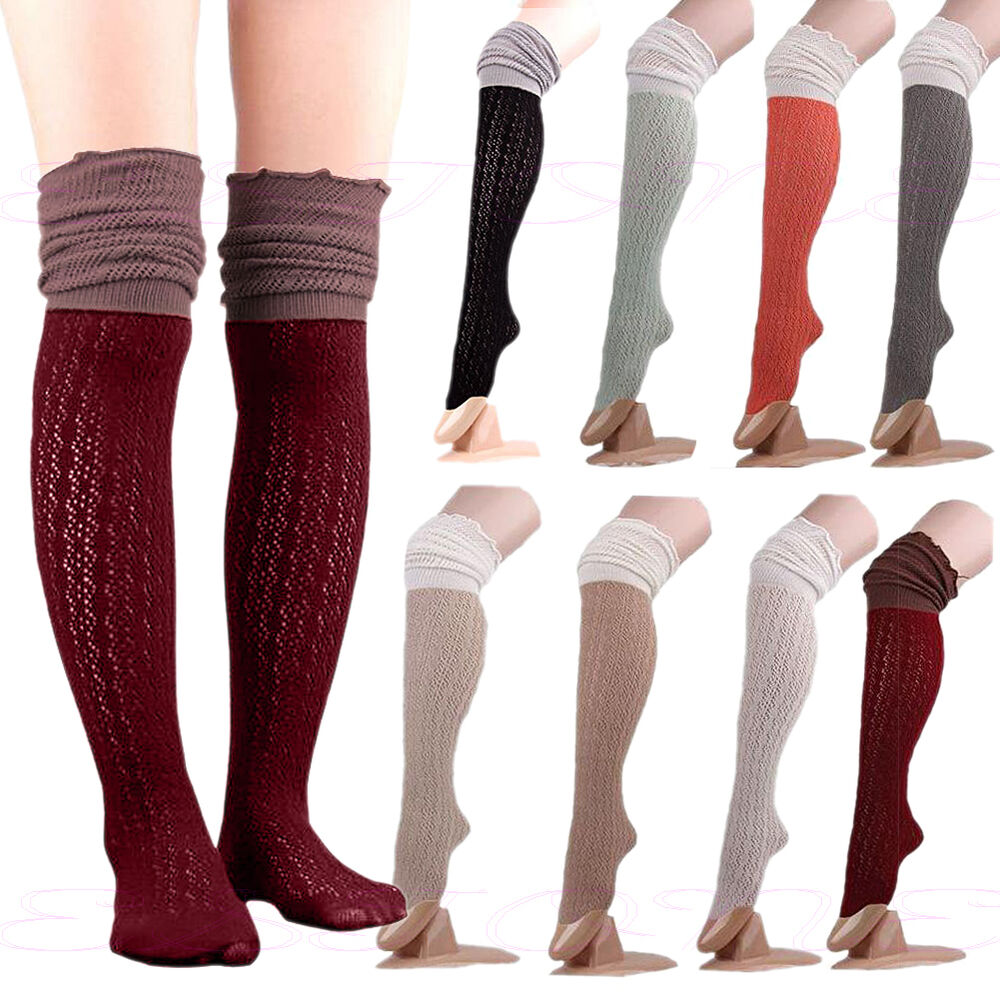 Sexy thigh-highs in a comfortable, soft cotton blend that will dye almost as well as % cotton with our Fiber Reactive Dyes. Ideal for all seasons, great to layer .