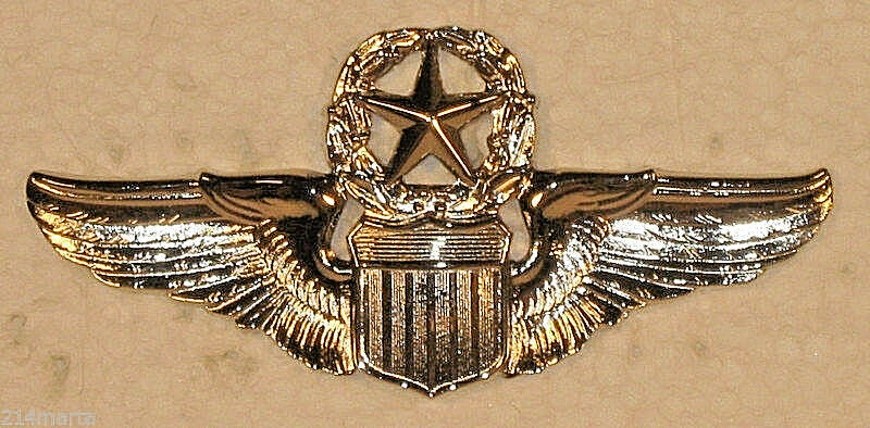 usaf air force command pilot wings badge military insignia. Black Bedroom Furniture Sets. Home Design Ideas