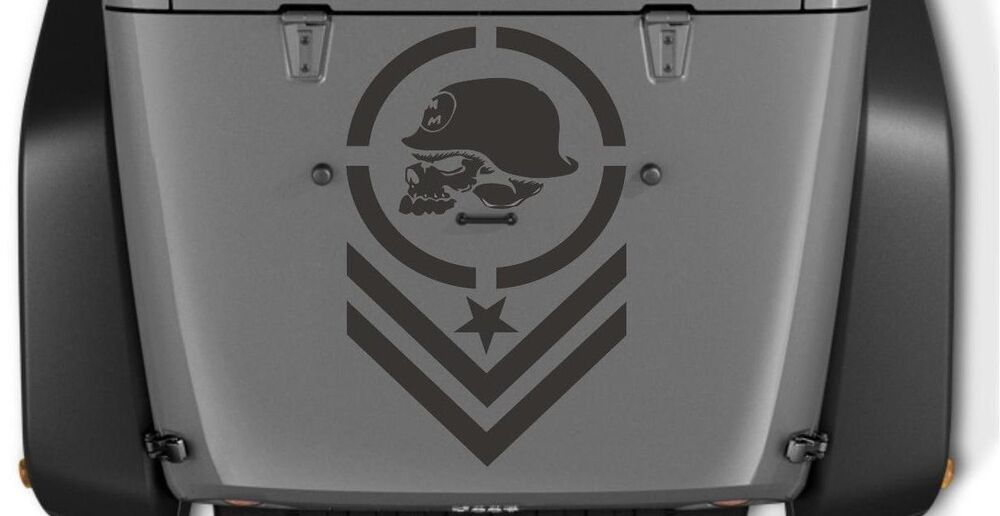 Metal Mulisha Skull X Hood Decal Decals Fit Jeep Ram F - F250 decalsmulisha skullxwindow bed decal decals f f ram