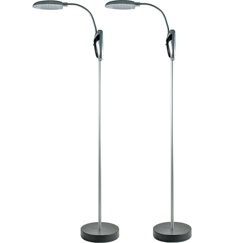 Set of 2 portable cordless battery operated led lamp uses for Cordless led floor lamp review