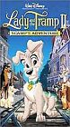 Lady and the Tramp II: Scamps Adventure (VHS, 2001)